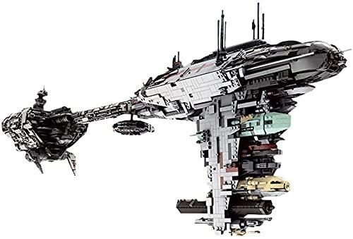 Mold King 21001 Nebulon-B Fragata Juego Construcción, 6388 Piezas Escolta Fragata Nave Espacial Gran MOC Juego de Ladrillos Sujeción Compatible con Lego