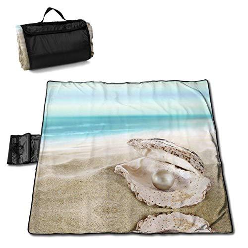 Suo Long Ocean Beach Mussel Pearl Pique-Nique Mat Couverture de Plage Couverture de Pique-Nique