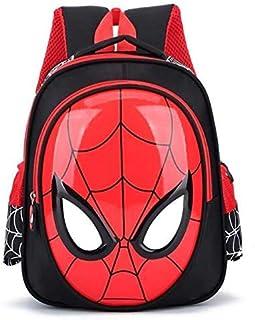 3-6 Year kids bags School Bags For Boys Spiderman Waterproof Backpacks Child Spiderman Book bag Kids Shoulder Bag Satchel ...