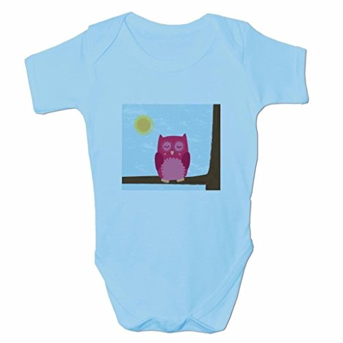 Funny Baby Grows Cute Baby Clothes for Baby Boy Body Vest Cute Sleepy Owl