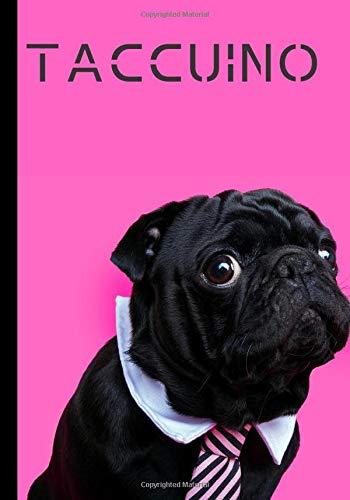 Taccuino: Carino taccuino - adorabile cagnolino - regalo ideale per gli amanti dei carlini | 100 pagine in formato 7*10 pollici