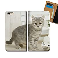 Xperia 10 III SOG04 ケース スマホケース 手帳型 ベルトなし 猫 ネコ ねこ 動物 アニマル 手帳ケース カバー バンドなし マグネット式 バンドレス EB293010117902