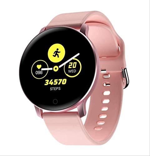 YUJY Smart Watch Bluetooth Smart Watch Männer Herzfrequenzmesser Blutdruckmessung Einzigartiges Armband Design Frauen Smart Watch wasserdichte SmartWatch Pink