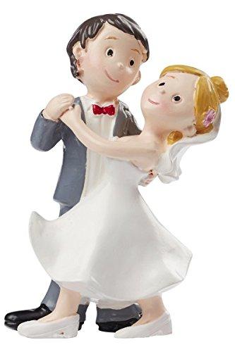 Estupenda decoración de mesa o decoración para tartas para la boda Material: polirresina (piedra sintética) Tamaño: Altura: 8cm aprox.