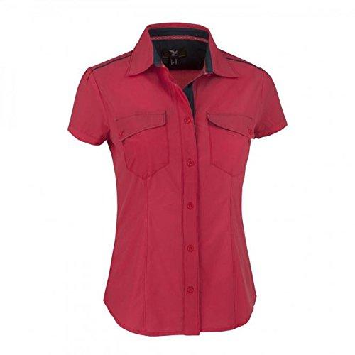 Salewa Hochalp Dry W Chemise à Manches Courtes pour Femme XS Rouge - Poppy Red/0710