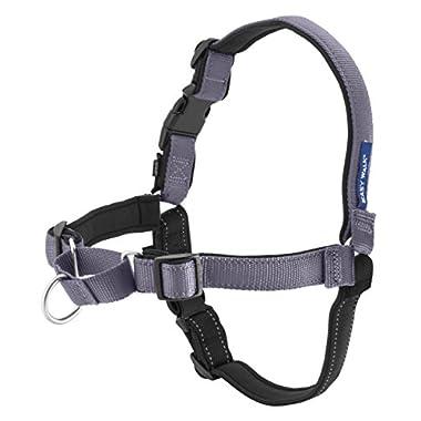 PetSafe Deluxe Easy Walk Harness, Medium/Large, Steel Gray