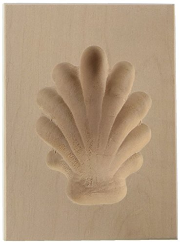 Städter 848047spéculoos Model–Oso Huella, madera, 5 x 6 X 3 cm