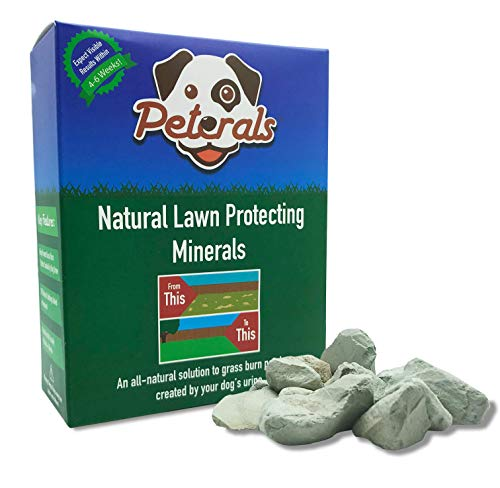 Peterals 400 Grams - Natural Mineral Rocks to Prevent Lawn Grass Burn Yellow Patches from Dog Urine