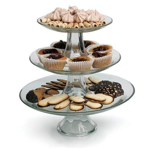Anchor Hocking 3Tier Presence Platter Set