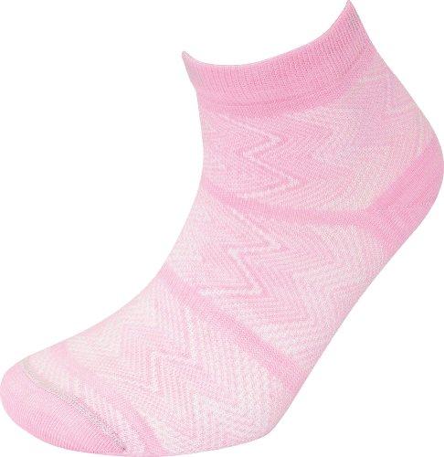 Lorpen Nikki Damen-Socken Medium hellrosa