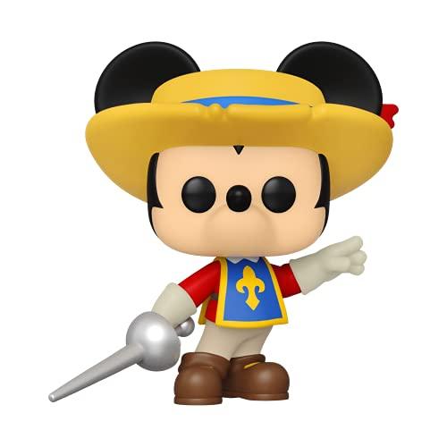 Funko 55536 Pop Disney: Mickey- Three Musketeers Mickey (Amazon Exclusive)