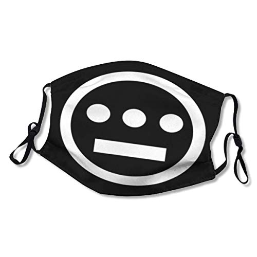 Hieroglyphics Logo American Underground Hip Hop XL Face Mask Washable Cloth Face Mask Reusable and Adjustable Protective (2 Filters)