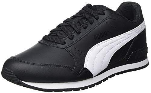 PUMA St Runner V2 Full L, Zapatillas Unisex Adulto, Negro Black White, 44.5 EU