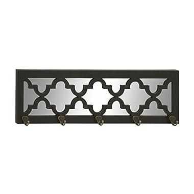 Deco 79 48567 Wood Metal Wall Hook, 31  x 9