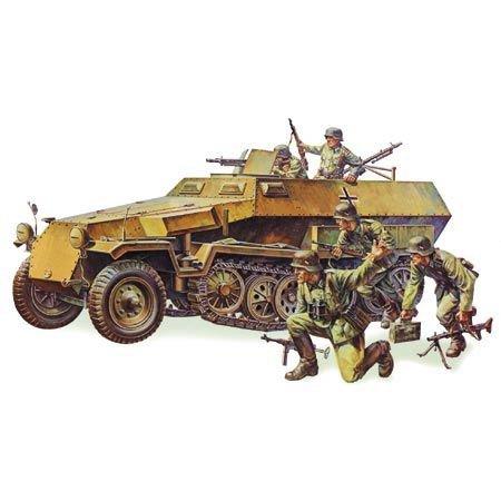 Tamiya America, Inc 1/35 German Hanomag SdKfz, TAM35020