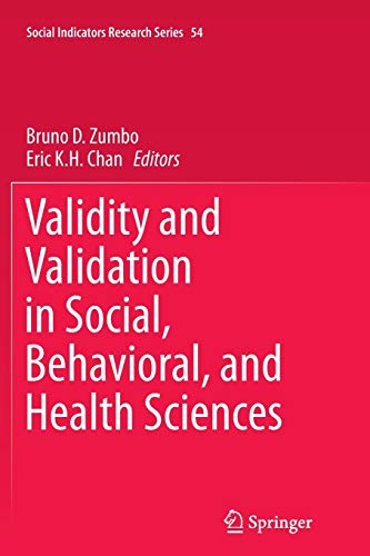 Validity and Validation in Social, Behavioral, and Health Sciences (Social Indicators Research Series, Band 54)