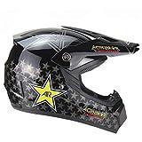 Casco de motocross Cascos de motocross baratos para niños Casco abatible Casco integral de motocicleta Cascos de moto MTB & nbsp; Certificado DOT