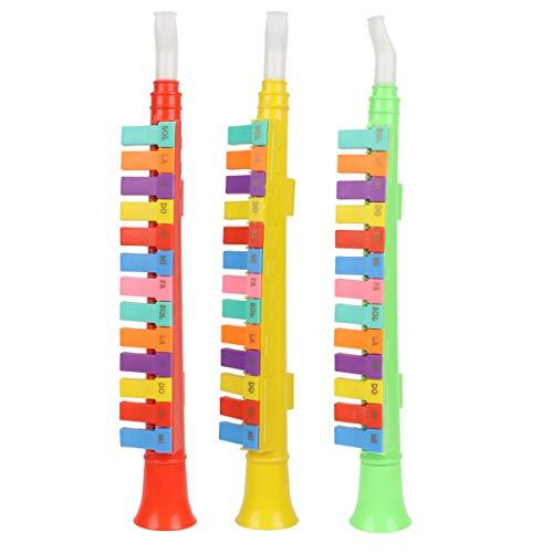 TOYANDONA 3 Stück Klavierhorn Kinder Spielen Musikinstrumente Akkordeon Spielzeug Klarinette Melodica Bildung Musik Sound Spielzeug für Baby Kinder Zufällige Farbe