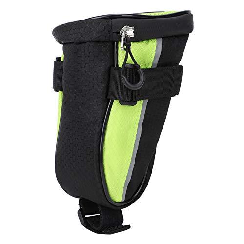 Widget de mochila LED impermeable portátil duradero con indicador de dirección Bolsa de sillín de ciclismo LED, con tira reflectante, para bicicleta segura