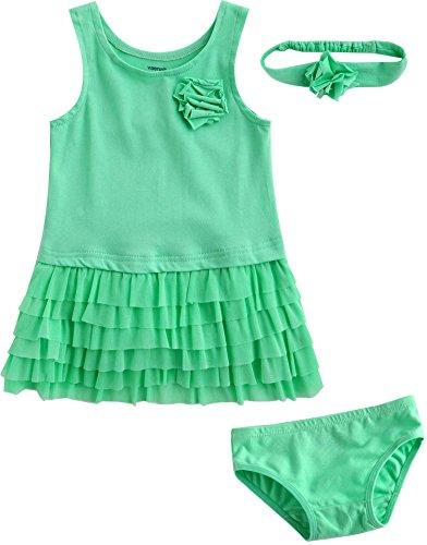 Vaenait baby - Robe - Bébé (fille) 0 à 24 mois Vert Vert