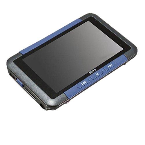 IPOTCH 1 Pieza de Pantalla LCD TFT de 3 Pulgadas Reproductor de Música Estéreo - Azul 8GB