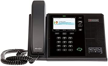 Polycom CX600 IP Phone Polycom CX600 IP Phone 2200-15987-025 POE (Power Supply Not Included)