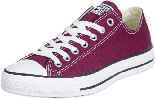 Converse Chuck Taylor All Star Ox, Zapatillas Unisex Adulto, Rojo (Bordeaux), 40 EU