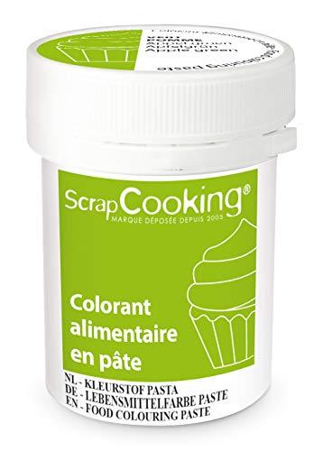ScrapCooking Colorant en Pâte Vert Pomme 20 g