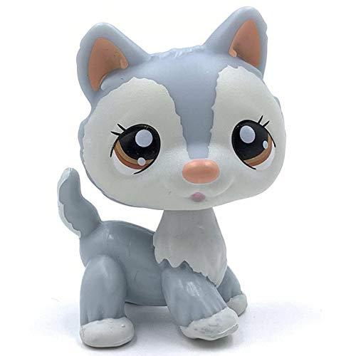 JiYanTang Little Pet Shop Toys Raro Gato Tienda de Mascotas Lindos Juguetes...