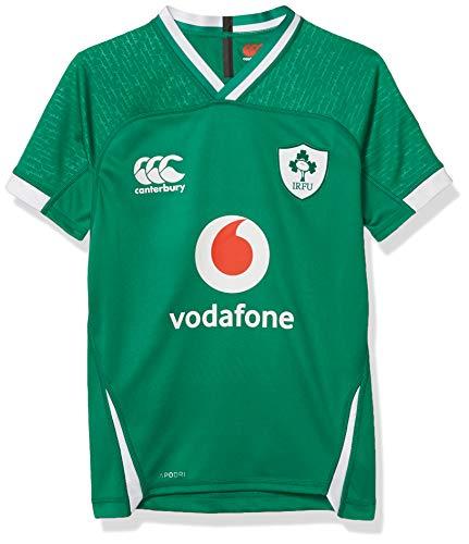 Canterbury Ireland 19/20 Vapodri+ Home Pro - Camiseta de Rugby. Unisex niños