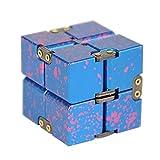 YiWu Cube Décompression en Alliage d'aluminium Décompression Jouet Puzzle Fidget...