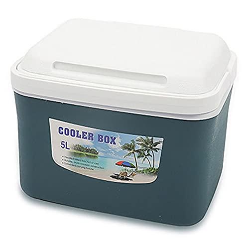 Cubo de hielo con aislamiento grande Cubo de hielo para congelador con tapa Cubo de hielo para congelador Cubo de vino Cubo de pesca con asiento para fiestas, barbacoas en el pati(Size:8L,Color:GRAMO)