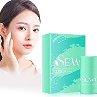 1pcs Clean Solid Mask Deep Cleans Pores,Anti-Acne Deep Cleans Clean Solid Mask Pores for All Skin Types-Hydrating,Oil Control