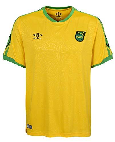 UMBRO 2018-2019 Jamaica Home Football Soccer T-Shirt Camiseta