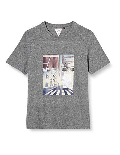 IKKS Junior XR10176 Camiseta, Gris, L para Niñas