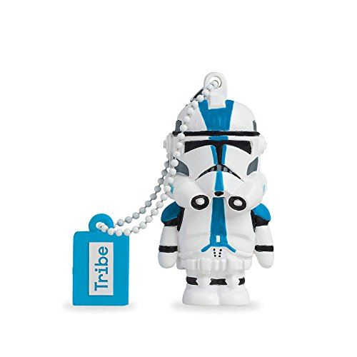 Chiavetta USB 8 GB 501st Clone Trooper - Memoria Flash Drive 2.0 Originale Star Wars, Tribe FD007417