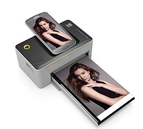 Kodak PD-450WE WiFi Negro, Color Blanco Impresora de Foto - Impresora...