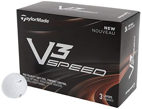 TaylorMade V3 Speed Golf Balls (Two Dozen)