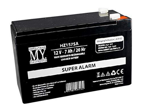 Batteria al piombo ricaricabile 12V 7Ah specifica per gruppi continuità