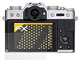 atFoliX Película Protectora Compatible con Fujifilm X-T10 Lámina Protectora de Pantalla, antirreflejos y amortiguadores FX Protector Película (3X)