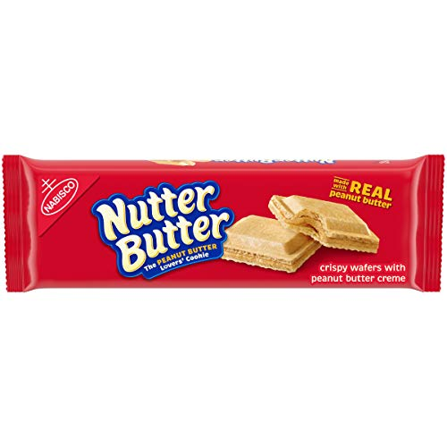 butter snack cookies Nutter Butter Peanut Butter Wafer Cookies, 10.5 oz