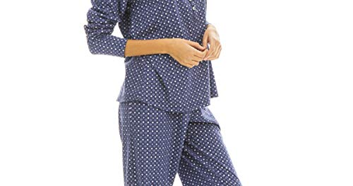 Pijama SEÑORA ALGODÓN Estrellas