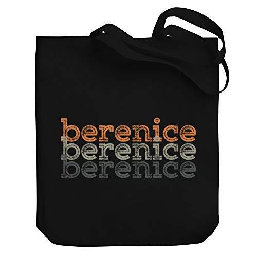 Teeburon Berenice Repeat Retro Bolsa de Lona 10.5' x 16' x 4'