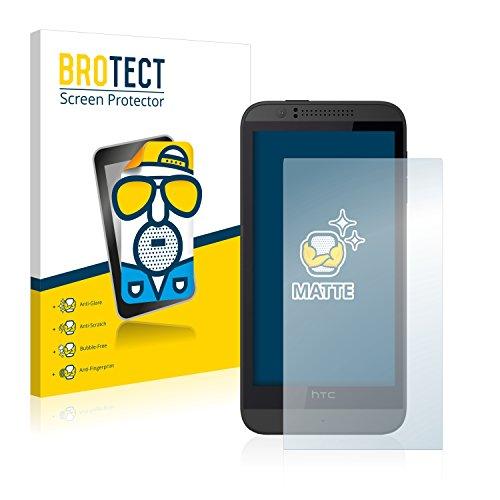BROTECT 2X Entspiegelungs-Schutzfolie kompatibel mit HTC Desire 510 Bildschirmschutz-Folie Matt, Anti-Reflex, Anti-Fingerprint