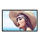 ZHSHML TYYJY 16: 9 Full HD PROYECTOR Screen Home Cinema 60/72/100/150 Pulgada Pantalla de proyección de Video de Video Plegable para Exteriores (Size : 150 Inch)