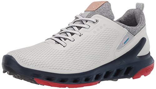 ECCO Biom Cool Pro Gore-tex - Zapatillas de golf para hombre, Blanco (blanco/escarlata), 42 EU