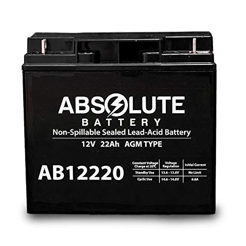 Save %49 Now! 12V 22AH SLA Replacement Battery for XPower PowerSource 1500 Jump Starter