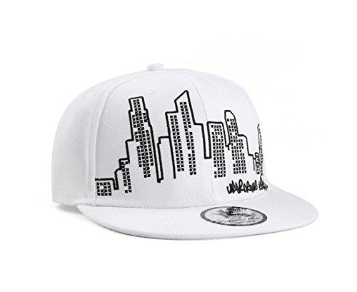 UNDERGROUND KULTURE Cityscape Casquette Réglable Blanc (Snapback)