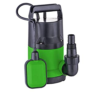 iWork – L-81-851 – Bomba Sumergible 400w Aguas Limpias color verde y negro