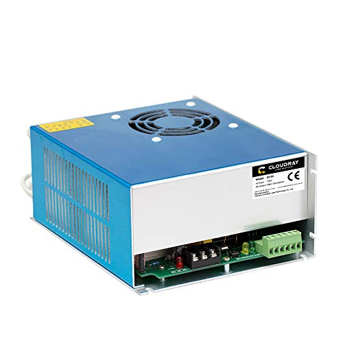 Cloudray 80W CO2 Laser Power Supply 220V PSU DY10 For Reci W1/Z1/S1 Co2 Laser Tube